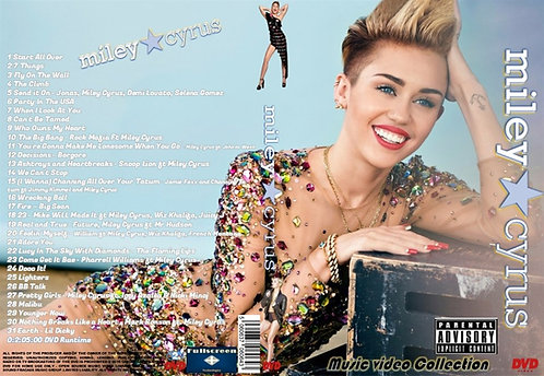Miley Cyrus Music Video DVD