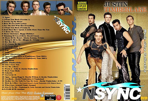 N Sync & Justin Timberlake Music Video Collection DVD