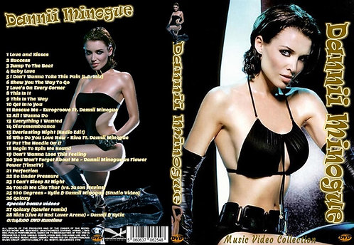 Dannii Minogue Music Video DVD