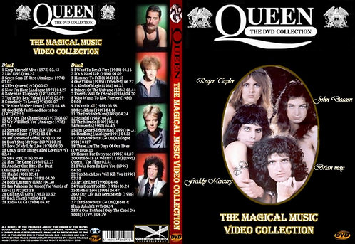 Queen The Magical Music Video Collection Box-Set 2DVDs