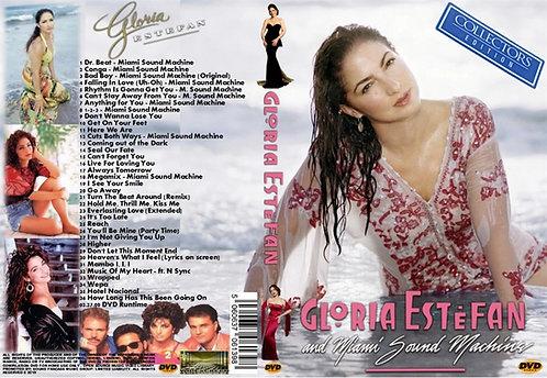 Gloria Estefan Music Video DVD