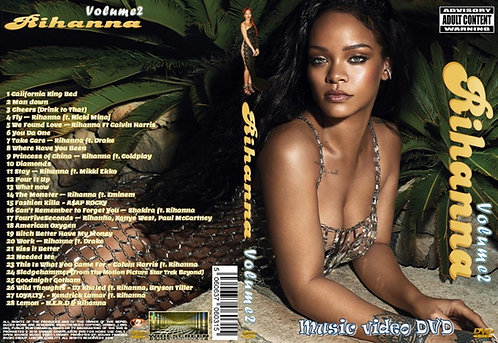 Rihanna Music Video DVD Volume2