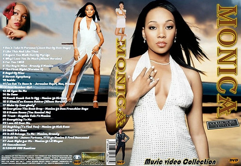 Monica Music Video DVD – Essential Collector's Edition