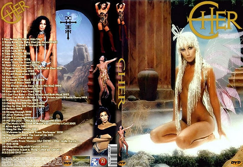 Cher Music Video DVD
