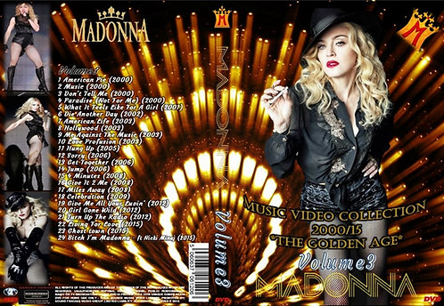 Madonna Music Video DVD – Volume3