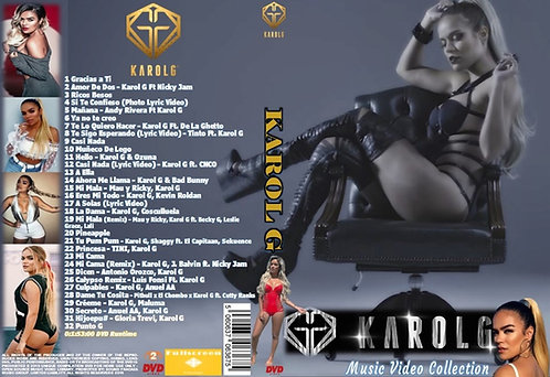 Karol G Music Video DVD