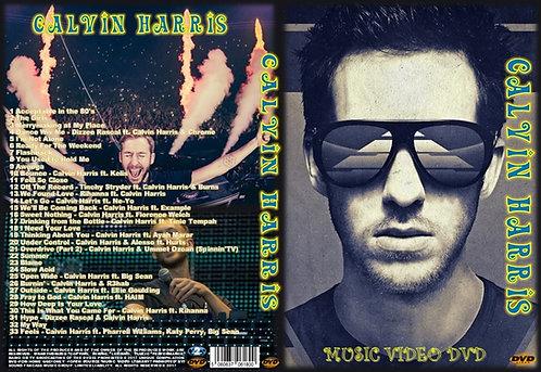 Calvin Harris Music Video DVD