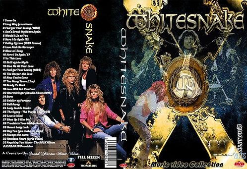 Whitesnake Music Video Collection DVD