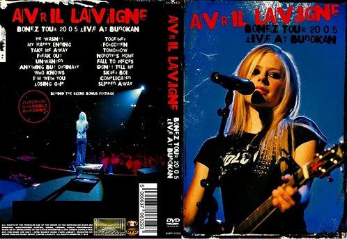 Avril Lavigne – Bonez Tour Live at Budokan (Japan) 2005 DVD