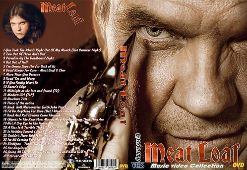 Meat Loaf Music Video Collection DVD