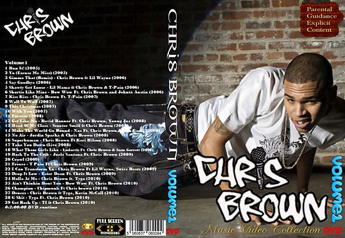 Chris Brown music Video Compilation Vol.1