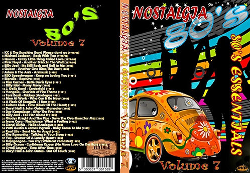 Nostalgia V7 80s Essentials Music Video DVD