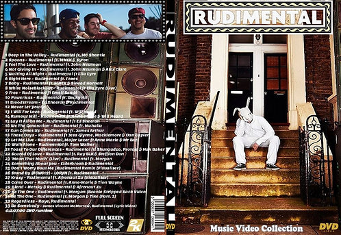 Rudimental Music Video Collection DVD