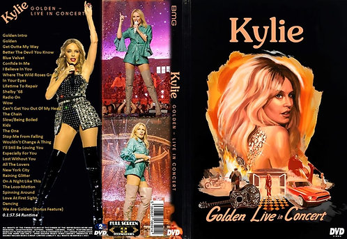 Kylie Minogue Kylie's Golden Live in Concert Tour (2019) DVD