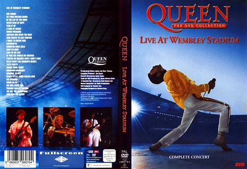 Queen The Magic Tour Live at Wembley '86 DVD