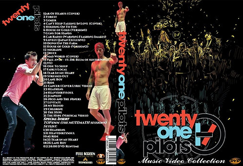 Twenty One Pilots Music Video Collection DVD