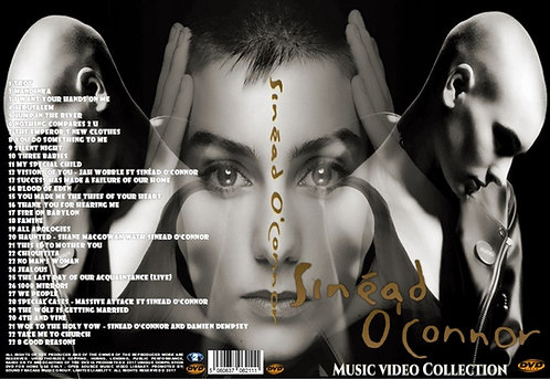 Sinead O'Connor Music Video DVD