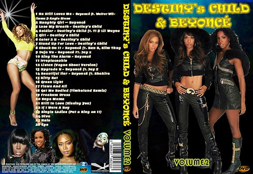 Beyonce & Destiny's Child Music Video DVD V2