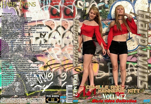 Harp Twins Music Video DVD Volume2