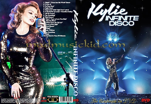 Kylie Minogue Infinite Disco DVD
