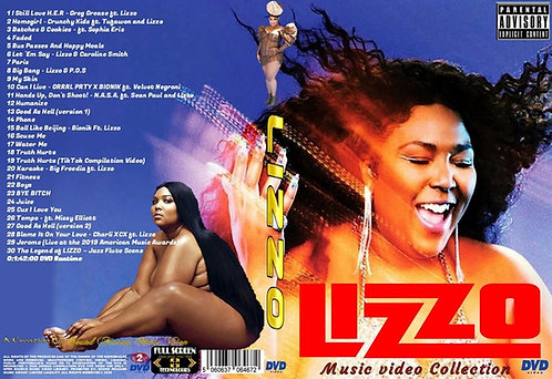 Lizzo Music Video DVD