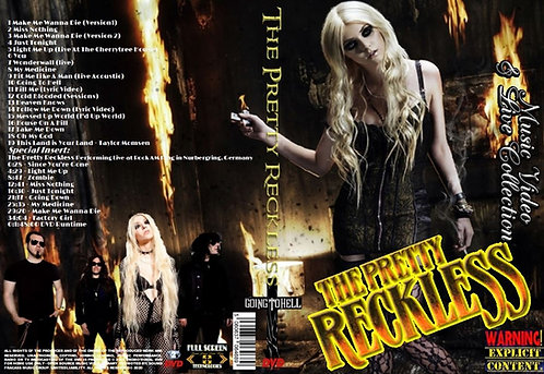 The Pretty Reckless Music Video DVD