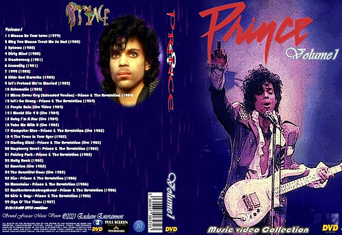 Prince Music Video Collection DVD Volume1