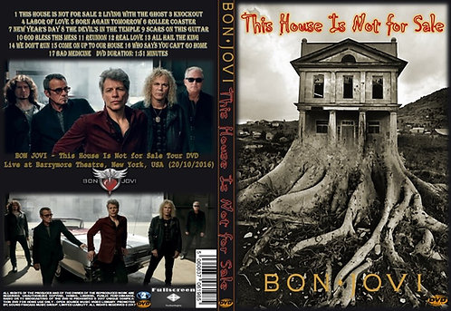 Bon Jovi - This House Is Not for Sale Tour DVD