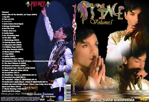 Prince Music Video Collection DVD Volume5