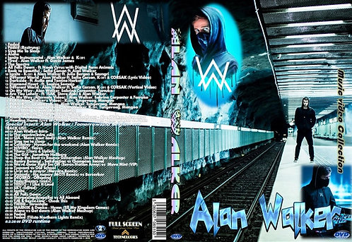 Alan Walker Music Video DVD