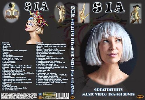 Sia Music Video Box-Set 2DVDs