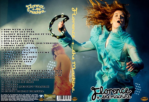 Florence + The Machine Music Video DVD