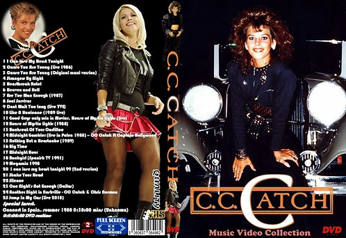 CC Catch Music Video Collection DVD