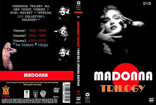 Madonna Trilogy 3 DVDs Box-Set Special Collector's Edition