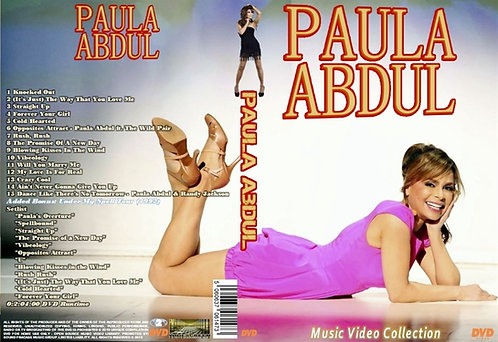 Paula Abdul Music Video DVD
