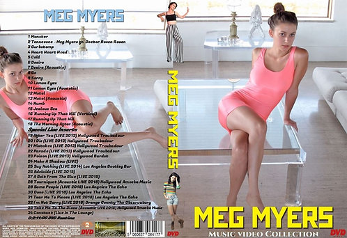Meg Myers Music Video DVD