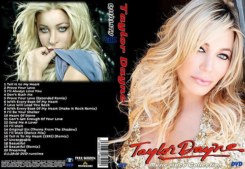 Taylor Dayne Music Video DVD