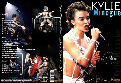 Kylie Minogue Live! Let's Get to It Tour DVD