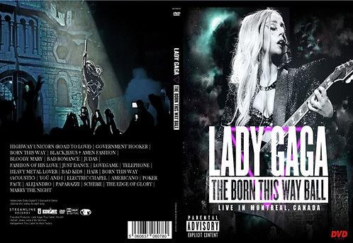 Lady Gaga Born This Way World Tour DVD