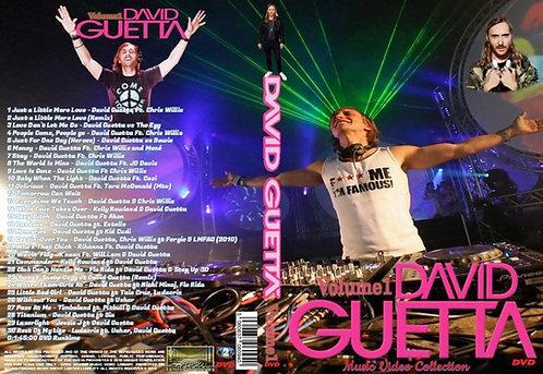 David Guetta Music Video DVD Volume1