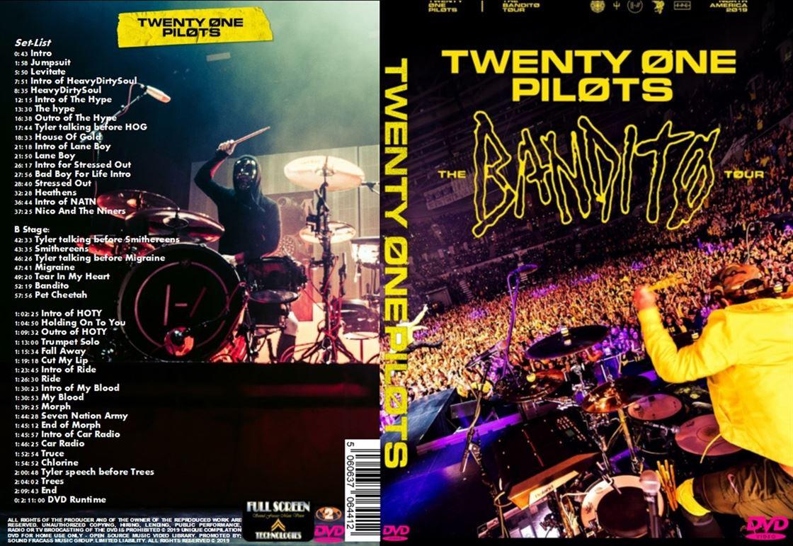 20 One Pilots Heathens twenty one pilots the bandito tour
