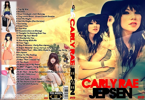 Carly Rae Jepsen Music Video DVD