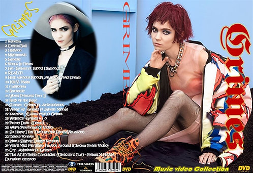 Grimes Music Video DVD
