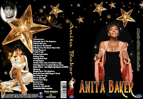 Anita Baker Music Video DVD & One Night Of Rapture