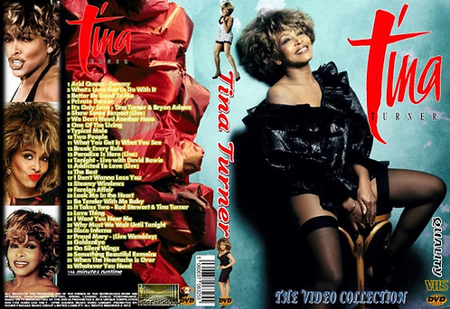 Tina Turner Music Video DVD