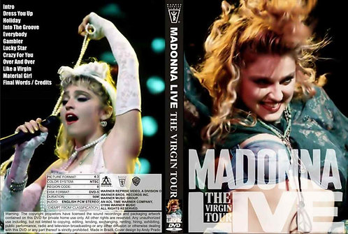 Madonna The Complete Tours Collection 1985-2015 Live Concerts - 11 DVDs