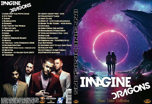 Imagine Dragons Music Video Collection DVD