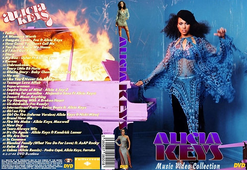 Alicia Keys Music Video DVD