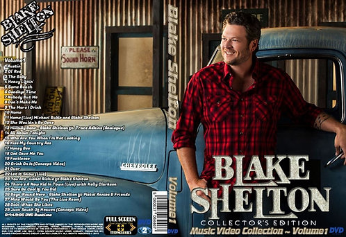 Blake Shelton Music Video DVD Volume1 Collector's Edition