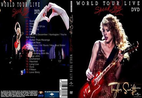Taylor swift Speak Now Tour DVD